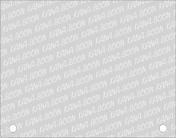 「奥義!KANA-BOON超合体BOX」クリアケース(表) (okmusic UP's)