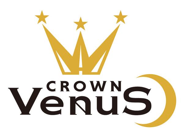CROWN VenuS ロゴ (okmusic UP's)