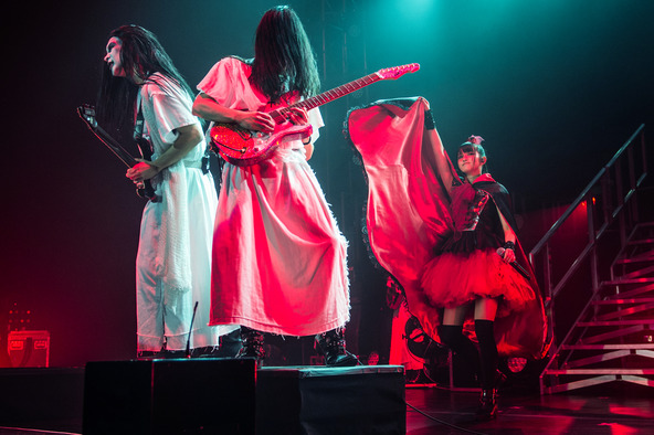 「BABYMETAL BACK TO THE USA / UK TOUR 2014」ファイナル公演 (okmusic UP's)