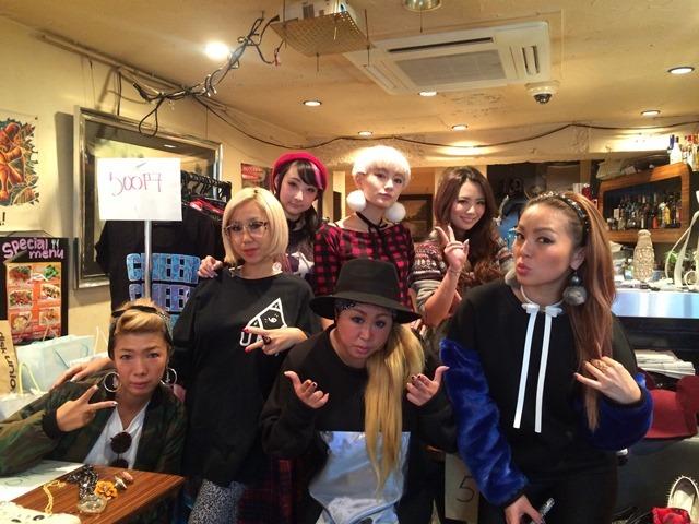 フリーマーケット『ECODIVA』(11月9日@27 CRAZY FORCE渋谷店)