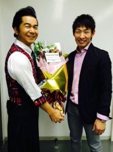 中村正人&ソフトバンクホークス 本多選手 (okmusic UP's)