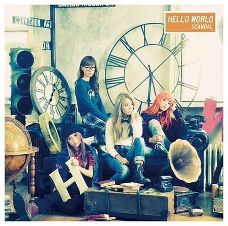 アルバム『HELLO WORLD』【初回生産限定盤】(CD+DVD) (okmusic UP's)