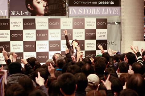 11月18日@マルイシティ渋谷1F店頭プラザ (okmusic UP's)