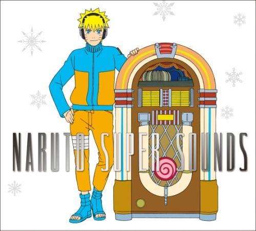 『NARUTO SUPER SOUNDS』ジャケットイラスト (C)岸本斉史 スコット/集英社・テレビ東京・ぴえろ
