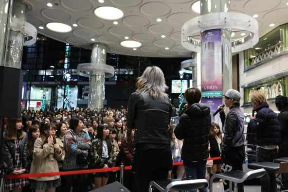 11月23日(日)@マルイシティ渋谷 1F店頭 プラザ 特設ステージ (okmusic UP's)
