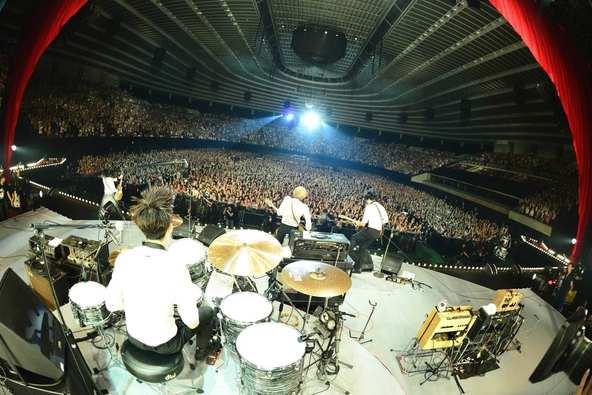 THE BAWDIES at 大阪城ホール (okmusic UP\'s)