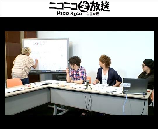 ニコニコ生放送「MUCC新メンバー最終選考!〜YUKKEの後輩が決まるってよ〜」 (okmusic UP\'s)