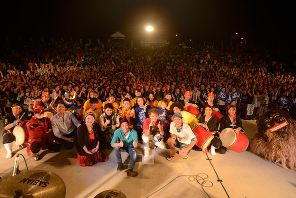 11月29日(土)うるま市与那城多目的球技場野外ステージ (okmusic UP's)