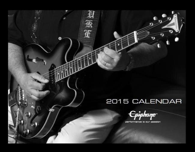 エピフォン(Epiphone) 2015年公式カレンダー