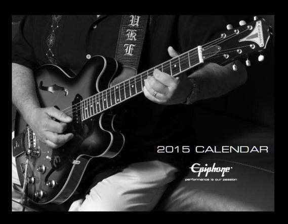 エピフォン(Epiphone) 2015年公式カレンダー (okmusic UP\'s)