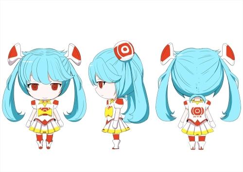 ピノキオピーがデザインした「初音ミク Project mirai でらっくす」新コスチューム原画 (C)SEGA / (C)Crypton Future Media, INC. www.piapro.net デザイン協力:ねんどろいど
