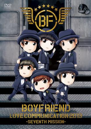 LIVE DVD『BOYFRIEND LOVE COMMUNICATION 2013-SEVENTH MISSION-』【初回限定盤】 (okmusic UP\'s)