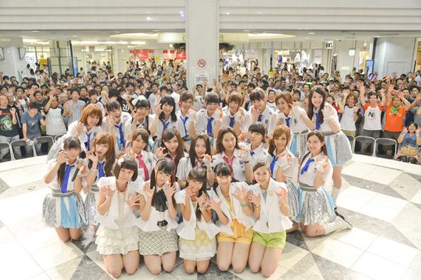 8月6日(火)@池袋のサンシャインシティ噴水広場 (okmusic UP\'s)
