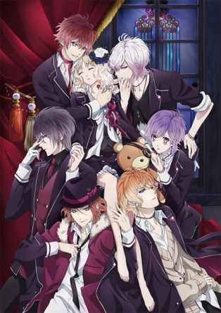 アニメ「DIABOLIK LOVERS」メインビジュアル (C)Rejet・IDEA FACTORY/DIABOLIK LOVERS PROJECT(okmusic UP\'s)