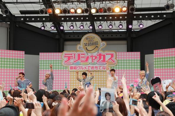8月13日@赤坂サカス (okmusic UP\'s)