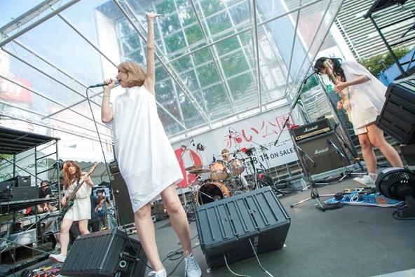 8月14日@新宿ステーションスクエア (okmusic UP\'s)