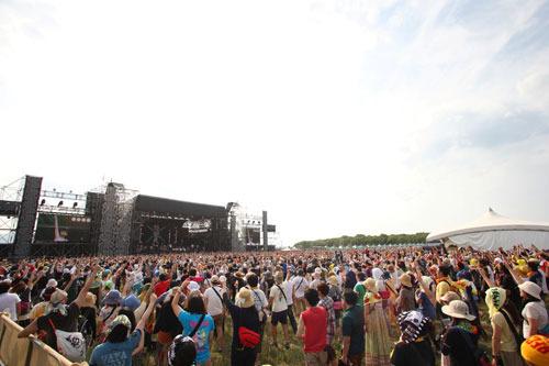 遂に開幕した『RISING SUN ROCK FESTIVAL 2013 in EZO』 (c)n-foto RSR team(okmusic UP\'s)