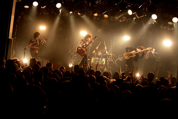 12月7日@東京・渋谷CLUB QUATTRO (okmusic UP's)