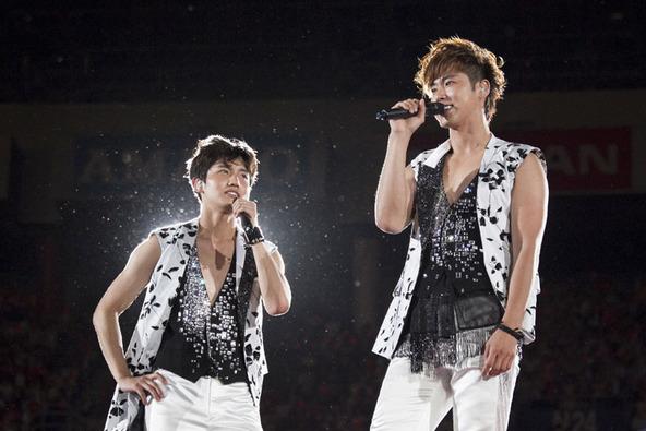 「東方神起 LIVE TOUR 2013〜TIME〜 FINAL in NISSAN STADIUM」@日産スタジアム (okmusic UP\'s)