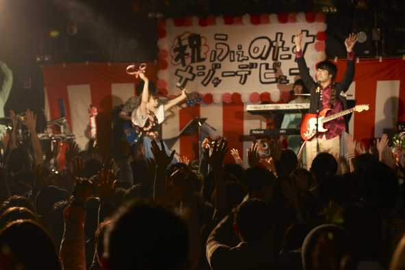 12月12日@渋谷CLUB QUATTRO (okmusic UP's)