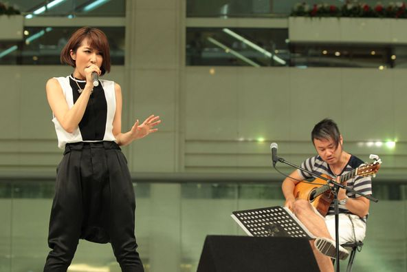 9月3日(火)@東京・池袋サンシャイン噴水広場 (okmusic UP\'s)