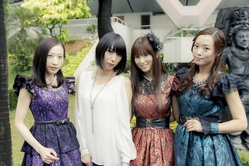 """Anime Festival Asia Indonesia 2013""に出演したKalafinaの3人と藍井エイル (okmusic UP\'s)"