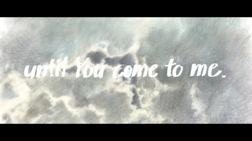 「日本アニメ(ーター)見本市」第7弾作品「until You come to me.」キービジュアル (C)カラー、(C)2014 nihon animator mihonichi, LLP.