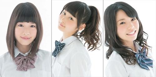 """""""アニソンCLUB!-i""""に出演するWake Up, Girls!(青山吉能/山下七海/奥野香耶)"""