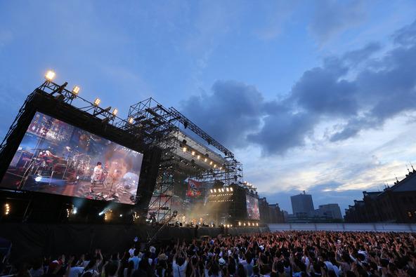 9月14日@「スピッツ 横浜サンセット2013」 photo by 上飯坂一 (okmusic UP's)