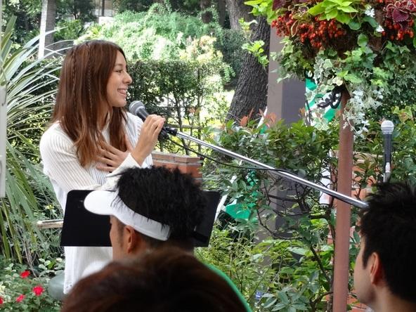 9月14日@日比谷茶廊 ガーデンレストラン(日比谷公園内) (okmusic UP\'s)