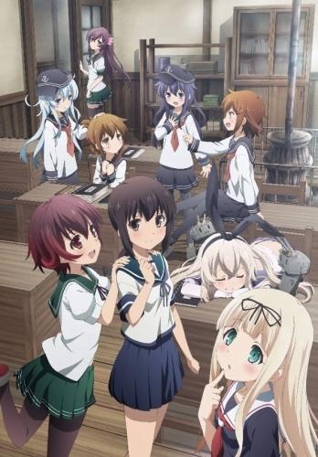 TVアニメ「艦隊これくしょん -艦これ-」キービジュアル第2弾 (C)2014 「艦これ」連合艦隊司令部