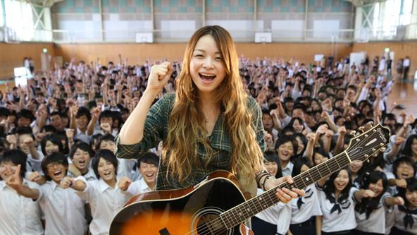 9月27日@安達高等学校・学園祭 (okmusic UP\'s)