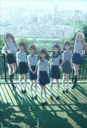 「Wake Up, Girls!」ティザービジュアル (C)Green Leaves/Wake Up, Girls!製作委員会(okmusic UP\'s)
