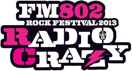 『RADIO CRAZY』ロゴ (okmusic UP\'s)