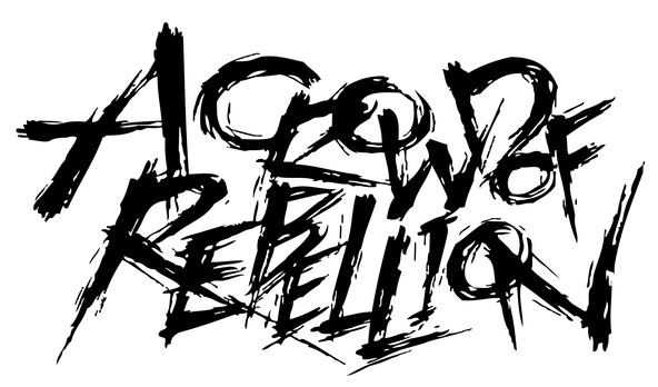 a crowd of rebellion ロゴ (okmusic UP's)
