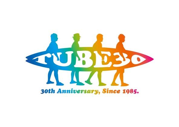 TUBE 30周年ロゴ (okmusic UP's)