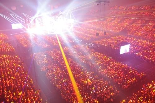 """11月17日よりNHK BSプレミアムにて3週連続放送される""""Animelo Summer Live 2013 -FLAG NINE-"""" (C)Animelo Summer Live 2013/MAGES.(okmusic UP\'s)"""