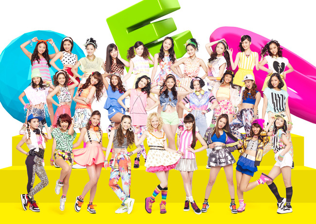 E-girls���{��́uMUSIC STATION�v�ɏ��o���I