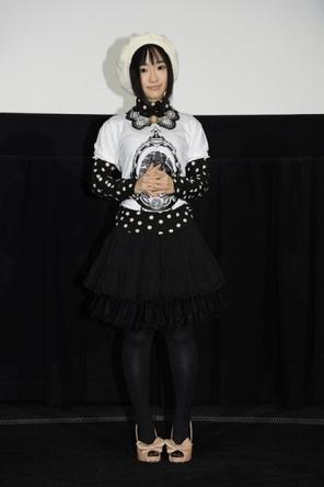 『劇場版 魔法少女まどか☆マギカ [新編]叛逆の物語』最速上映カウントダウンイベントに登壇した悠木碧 (C)Magica Quartet/Aniplex・Madoka Movie Project Rebellion(okmusic UP\'s)