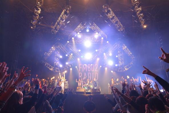 12月28日@FM802主催イベント「RADIO CRAZY」 (okmusic UP's)