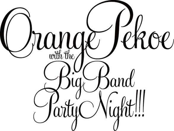 orange pekoe Big Band Liveロゴ (okmusic UP\'s)