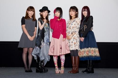 『劇場版 魔法少女まどか☆マギカ [新編]叛逆の物語』大ヒット記念大阪舞台挨拶イベントに登壇したキャストのみなさん (C)Magica Quartet/Aniplex・Madoka Movie Project Rebellion(okmusic UP\'s)