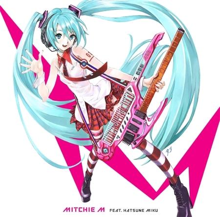 Mitchie M『グレイテスト・アイドル』ジャケット画像 (C)Crypton Future Media, INC.  www.piapro.net(okmusic UP\'s)