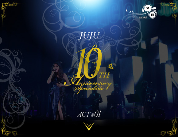「10th Anniversary Special site」 (okmusic UP\'s)