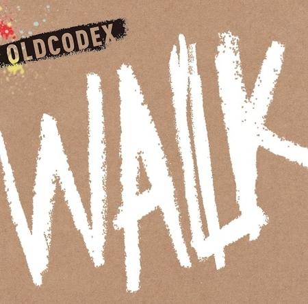 OLDCODEX「WALK」初回限定盤ジャケット画像 (okmusic UP\'s)