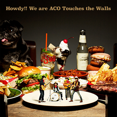 アルバム『Howdy!! We are ACO Touches the Walls』【完全生産限定盤】(アナログ) (okmusic UP's)