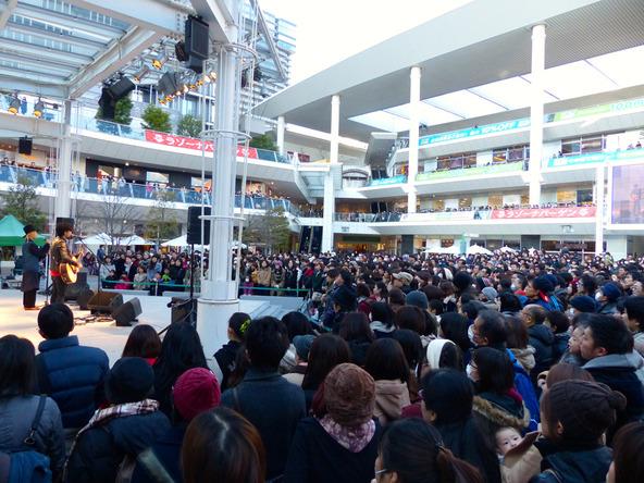 1月10日(日)@神奈川・ラゾーナ川崎プラザ (okmusic UP's)