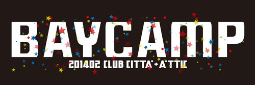 『BAYCAMP 201402 』ロゴ (okmusic UP\'s)