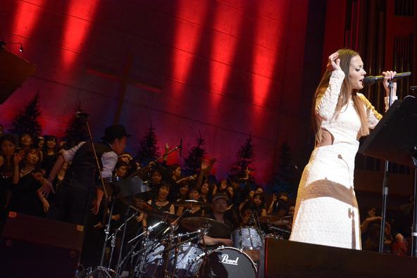 昨年、キリスト品川教会グローリア・チャペルで開催されたゴスペルライブより (okmusic UP's)
