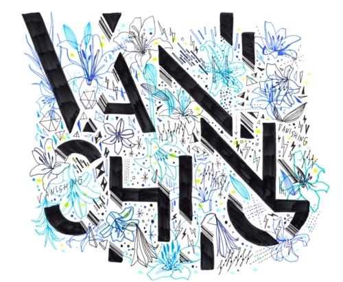 アルバム曲「VANISHING」SHOGO SEKINEコラボアート